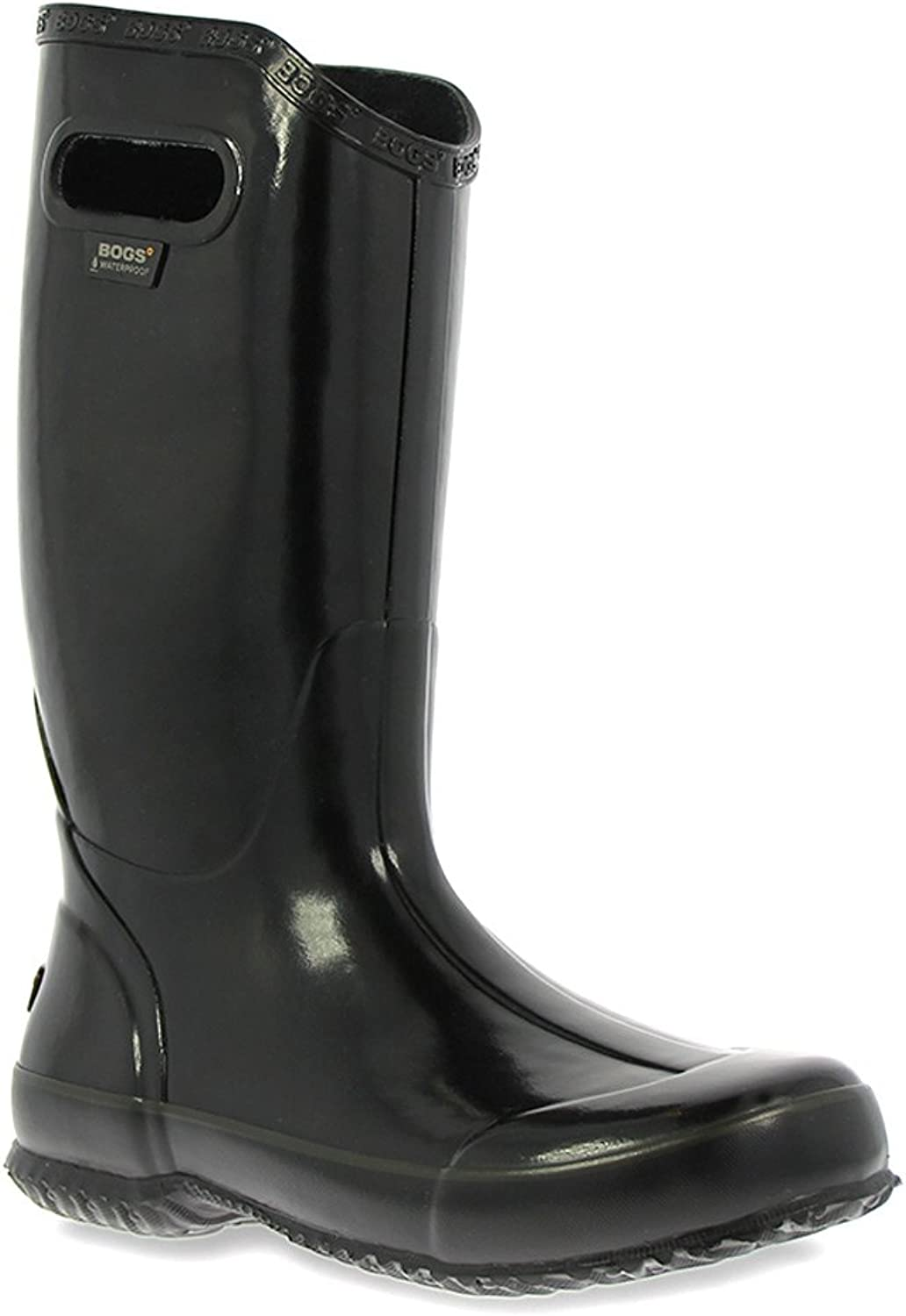 Rain Boot Solid black 6