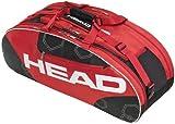 HEAD Tennistasche Elite All Court, rot/schwarz, 79 x 29 x 33 cm, 48 liters, 283323RD -