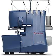 SINGER Making The Cut S0230 4 hilos, alimentación diferencial, 1300 puntadas por minuto, fácil Serger, azul
