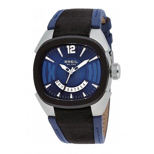 Breil Reloj Analógico para Hombre de Cuarzo con Correa en Piel GG1004P
