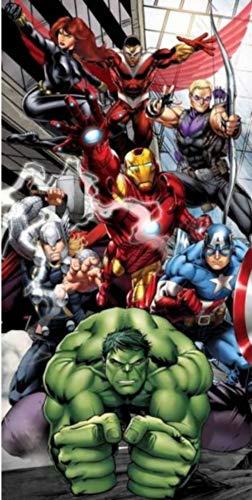 AYMAX S.P.R.L Marvel - Toalla de Playa