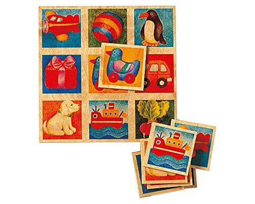 Selecta 63007  Bilderlotto, Legespiel, 30 Teile, Mehrfarbig
