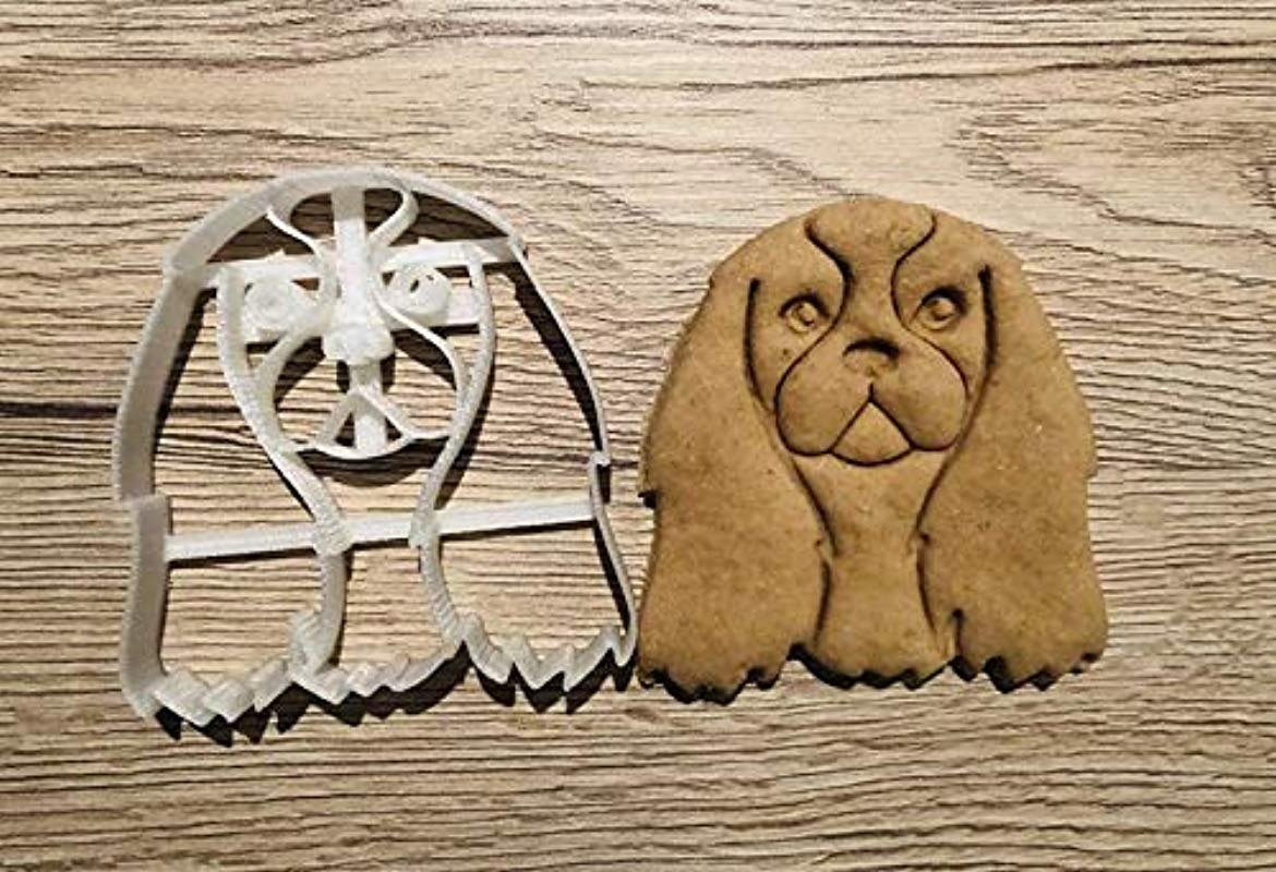 Cavalier King Charles Spaniel Cookie Cutter And Dog Treat Cutter Dog Face
