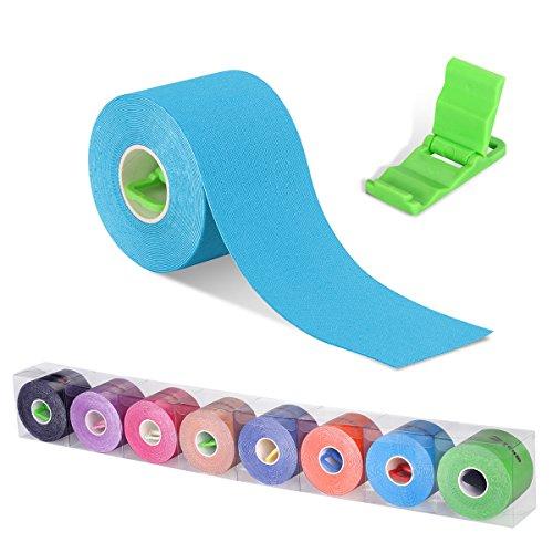 Cinta Kinesiología, cinta de soporte, rollo de 5m x 5cm, el