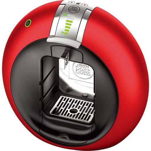 ネスレ日本 専用カプセル式コーヒーメーカー 「ドルチェグスト サーコロ・フローストップ」 MD9742FS-RM レッドメタル