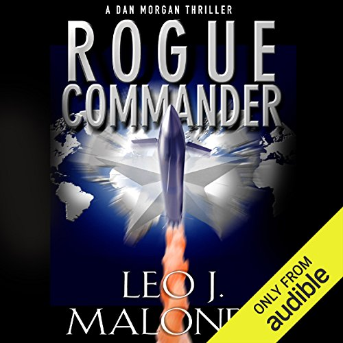Rogue Commander audiobook cover art