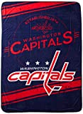 The Northwest Company NHL Washington Capitals 'Stamp' Raschel Throw Blanket, 60' x 80' , Red