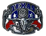 Buckle TEXAS, USA, Rebel, Western, Gürtelschnalle
