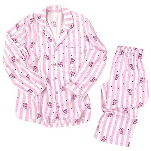 Silver Basic BTS Bangtan Boys Musik-Fanbekleidung JUNG JOOK Jimin V Harajuku Stil BT21 Pyjama Set Nachtwäsche (L, Cooky-3)