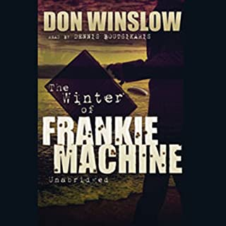 The Winter of Frankie Machine audiobook cover art
