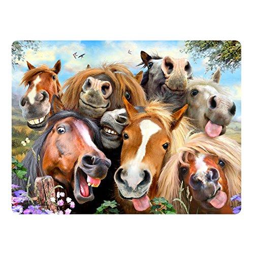 Howard Robinson Super 3D Bewegend Postkarte - Pferd Selfie