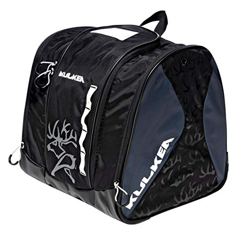KULKEA Speed Star - Kids Ski Boot Bag, Black/Grey/White