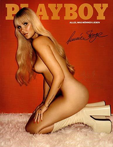 Playboy Magazin 12/2018 (Dezember 2018) - Abo-Autogramm-Ausgabe - Exklusives Star-Cover - Bonnie Strange