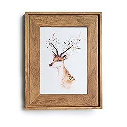 HUIXIANG Bilderrahmen 10x15 Vintage Fotorahmen Retro Bilderrahmen Rustikal für Foto 10 x 15cm Kann Aufgehängt Oder Tischplatte Geschenk für Hochzeit Jahrestag Freunde Geburtstagsgeschenk Holzfarbe