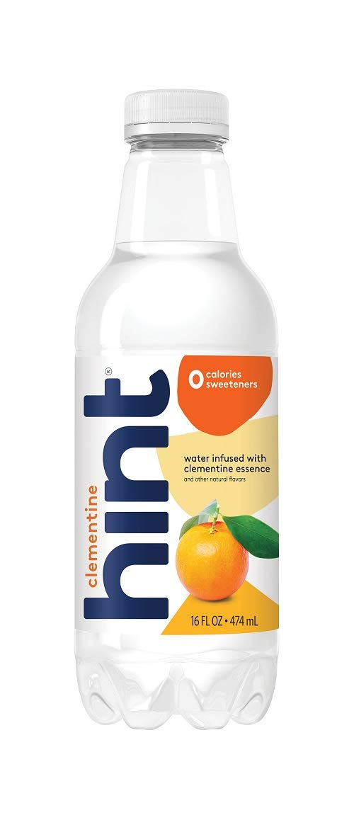 Hint Water Clementine Pack of Pure Ounce 16 New product 12 Seattle Mall Bottles