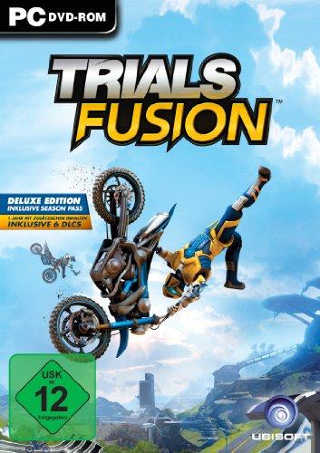 Ubisoft Trials Fusion Básico PC Inglés vídeo - Juego (PC, Deportes, Modo multijugador, E10 + (Everyone 10 +), Se requieren auriculares de realidad virtual (VR))