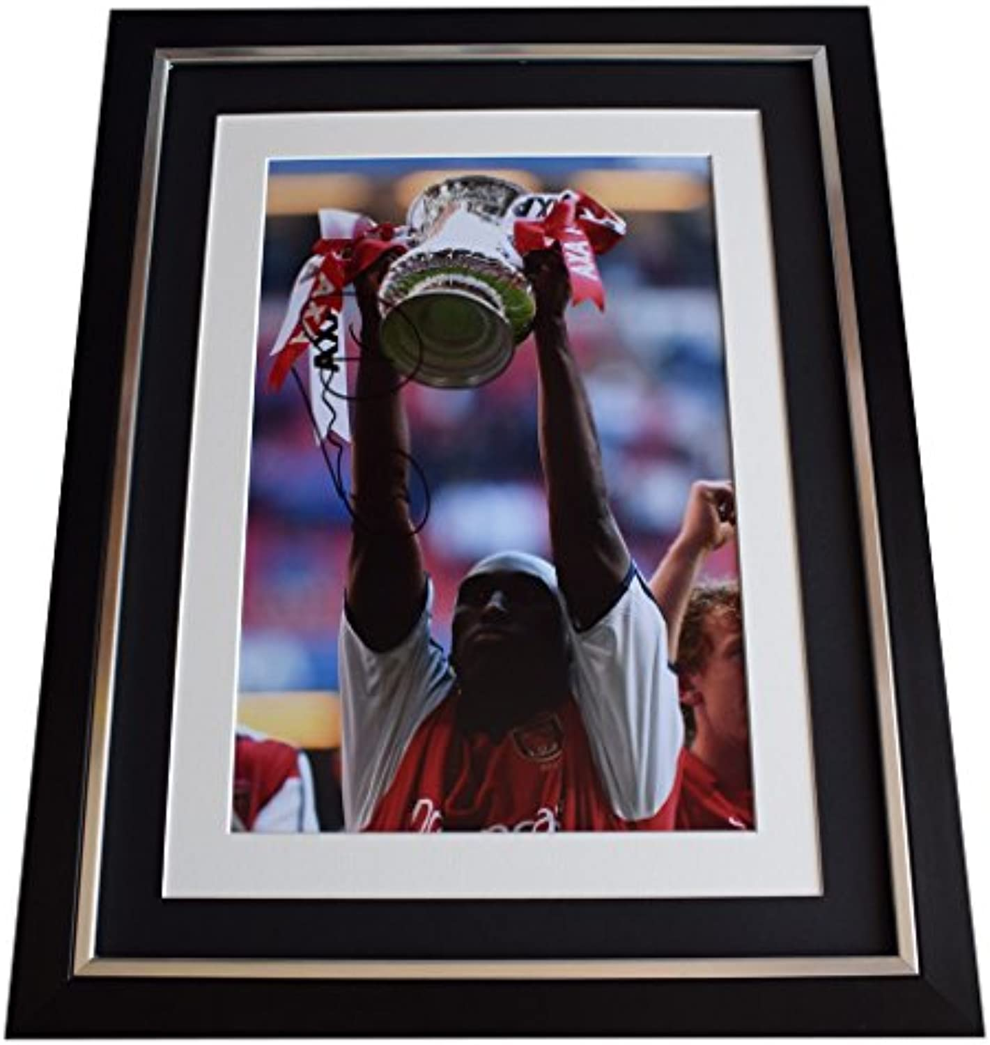 Sportagraphs Sol Campbell Signed Framed Photo Autograph 16x12 display Arsenal Football COA
