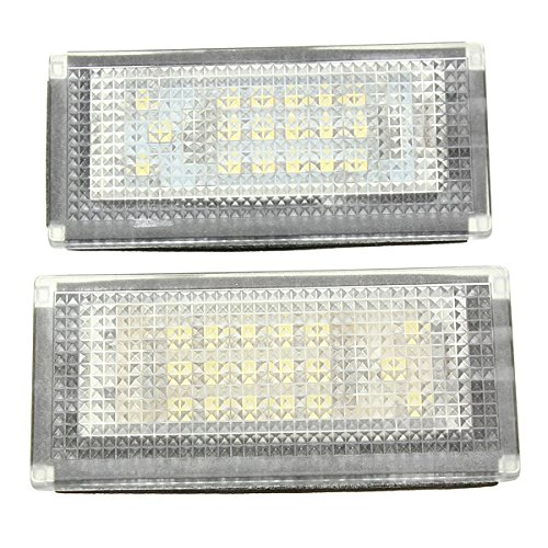 Masunn 2ST 18 LED gelicentieerde Nubmer Plate Lights Lamp voor Mini Cooper S R50