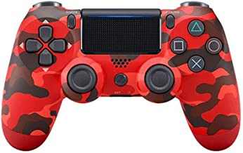 $28 » Ambllers with Light Bar 4th Generation PS4 Controller Wireless Bluetooth Artifact PS4 Game Handle 1 Pack Red Camo (Univers...