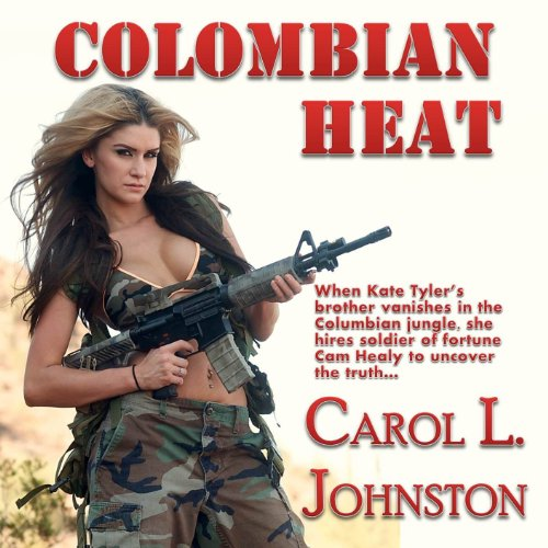 Colombian Heat audiobook cover art