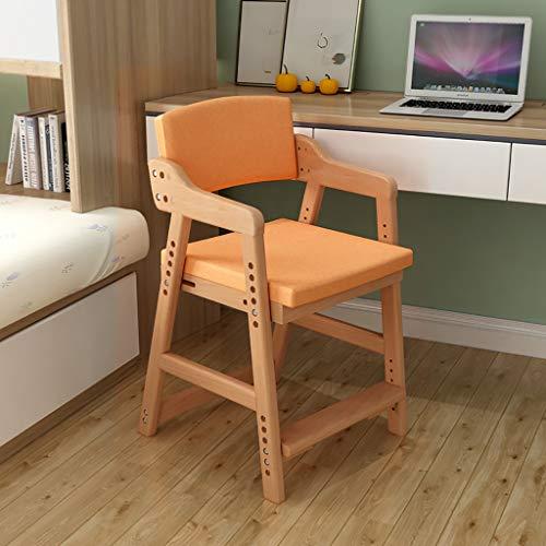 DCCYZ-YJ Stoel massief hout kinderstoel verstelbare lift bureaustoel home seat student studiestoel eetkamerstoel achterstoel