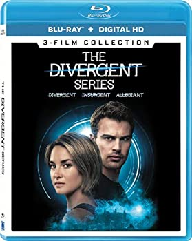 The Divergent Series 3-Film Collection [Blu-ray + Digital HD]