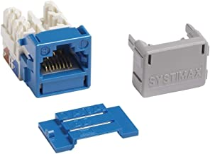 Commscope/Systimax GigaSpeed Cat6 Modular Jack, Blue (Alternate P/N 700206758) MGS400BH-318
