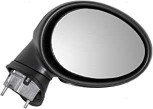 Passengers Power Side View Mirror Heated Power Folding Gray Cover Replacement for 07-15 Cooper 51162755640 AutoAndArt