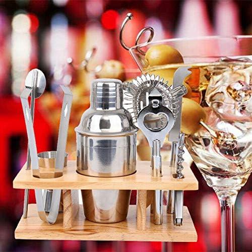 Ridgeyard Max 83% OFF Max 86% OFF 8Pcs Stainless Steel Cocktail Set Kit Shaker Bartender
