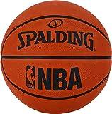 Spalding NBA - Balón de baloncesto (talla 7), color naranja