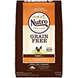 NUTRO GRAIN FREE Adult Natural Dry Dog Food Farm-Raised Chicken,...