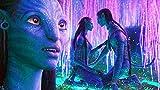 UKMNB Puzzle 1000 Piezas para Adultos Cartel De Avatar De Película Puzzle Educational Game Juguete para Aliviar Estrés Juego Intelectual Cerebro Desafío 75 * 50Cm