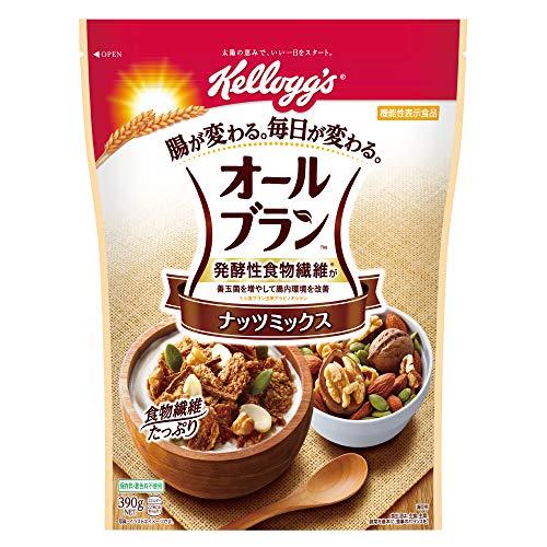ケロッグ オールブラン ナッツミックス 390g ×6袋 機能性表示食品