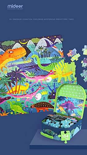 Puzzle Dinosaur Age, Color (Multicolor) (MD3026)