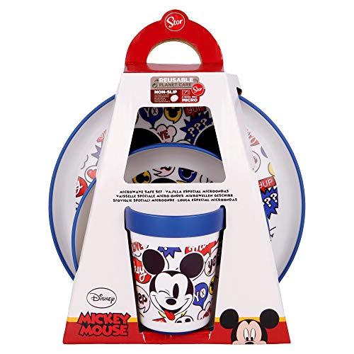 Vajilla Infantil Cerámica Disney Marca Stor