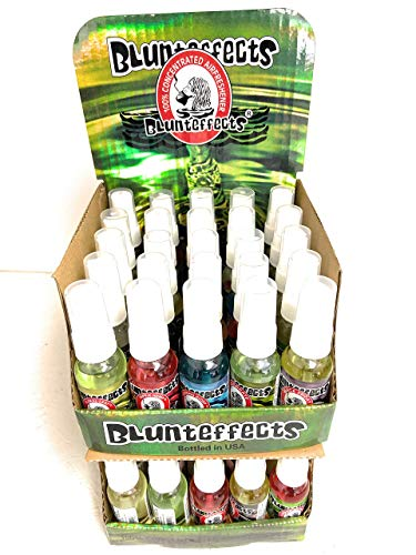 Blunteffects 100% Concentrated Air Freshener Car/Home Spray (5 Assorted Scents) (50 Pack)
