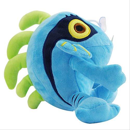N\A Anime 3 Stile Murloc Wow Magic Fisch Plüschtiere Weiche Anime Gefüllte Puppe Anime Plüsch Baumwolle Gefüllt 20cm Blau