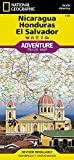 Nicaragua, Honduras, and El Salvador (National Geographic Adventure Map (3109))
