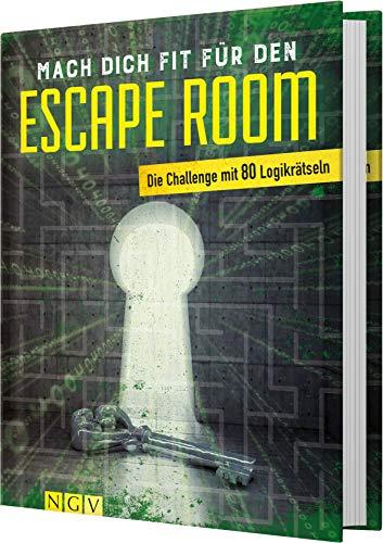 Mach dich fit für den Escape Room: Die Challenge mit 80 Logikrätseln. Das perfekte Geschenk für Escape Room-Fans
