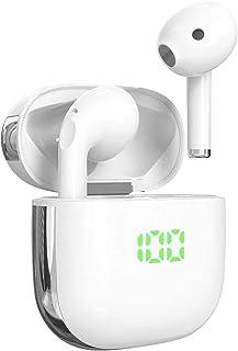Cuffie Bluetooth In-Ear ,True Auricolari senza Fili Bluetooth, Wireless Earbuds con Microfono Integrato, impermeabile Corr...