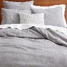 Organic Rolling Dot Queen Duvet Cover | west elm