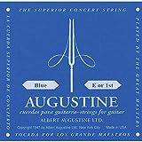augustine corde per chitarra classica, singole mi1, blu