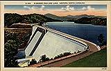 N-486 Hiwassee Dam and Lake, Western North Carolina Murphy NC Original Vintage Postcard