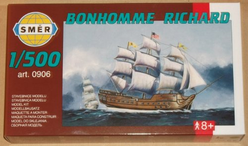 Bon Homme Richard 1: 500 Escala Modelo Barco/barco Kit 906