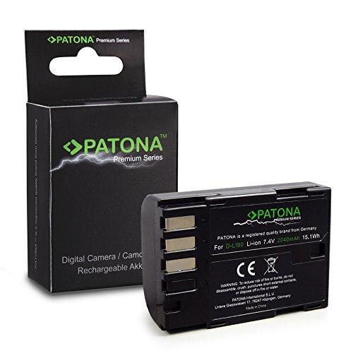 PATONA Premium Bateria D-Li90 Compatible con Pentax 645D K-01 K-3 K-5 K-7