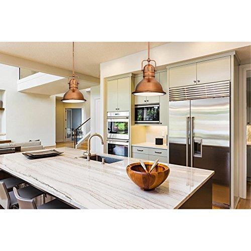 Westinghouse Lighting LED Indoor Kitchen Mini Pendant, Washed Copper