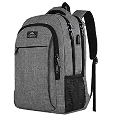 ✔Multi Compartments & Pockets: Well padded laptop sleeve of this laptop backpack, holds Laptops under 15.6 inch, compatible for Surface Book/Chromebook/Cloudbook/Macbook pro(HP, Lenovo, Toshiba, alienware etc.) Laptop compartment dimension: 16 X 10 X...