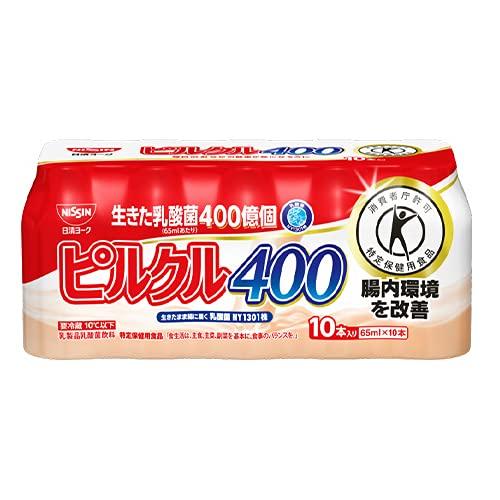 日清ヨーク ピルクル400 (65ml×10本)×5個 【冷蔵】