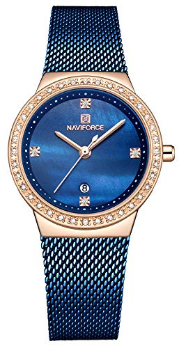 NAVIFORCE Brand Watch Women Fashion Casual...