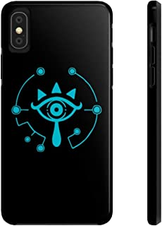 95Vibes Sheikah Slate Eye Symbol Legend of Zelda Inspired Tough Phone Cases for iPhone